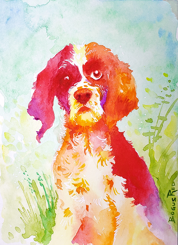 Watercolor art gifts