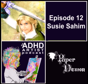 ADHD Artist Podcast Episode 12